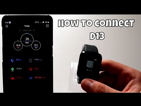 How to connect JBRL with Lefun Health app Android phone Smart Watch