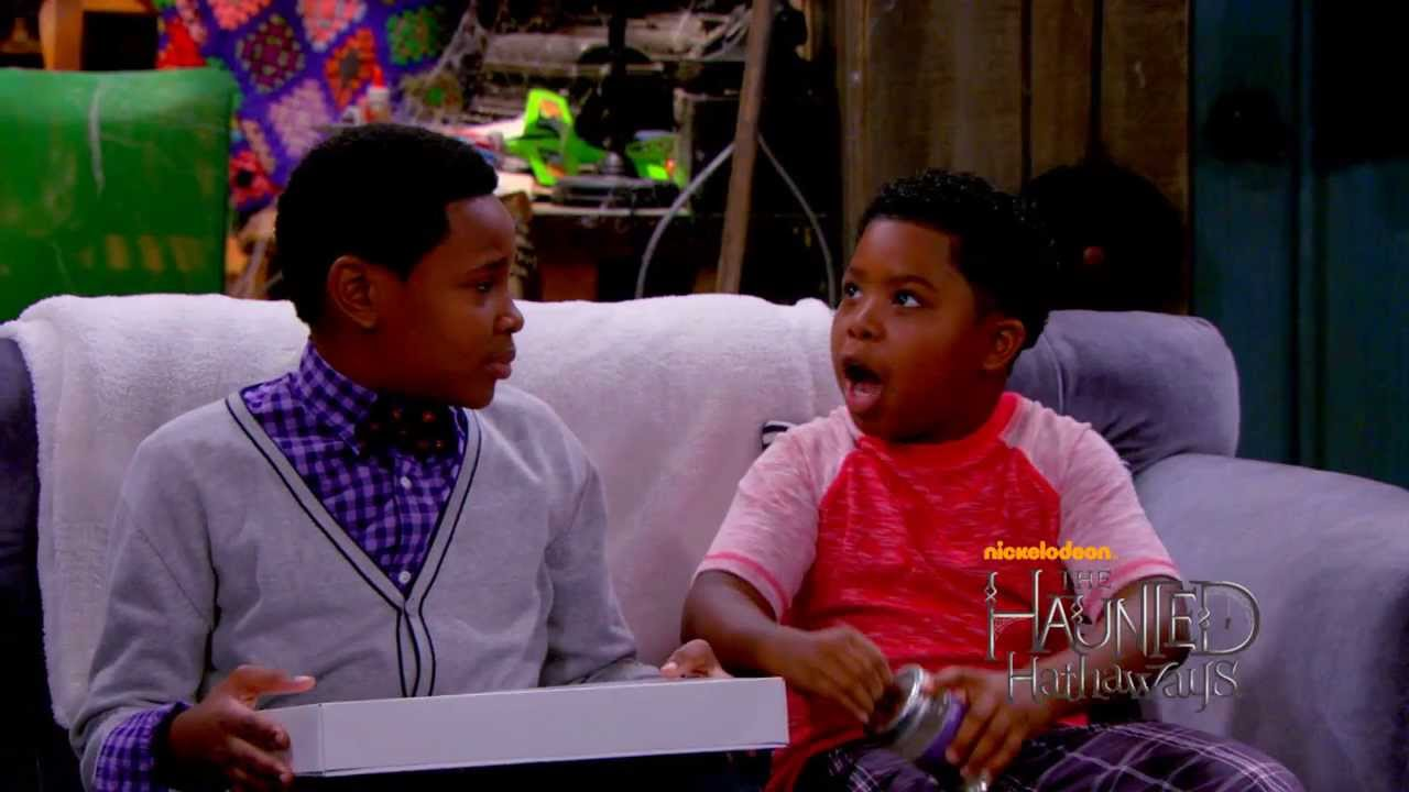 Haunted Hathaways - Haunted Visitor Sneak Peek - Flashback! Meet Ray's dad and see what life was like before the Hathaways moved in during a new Haunted Hathaways.