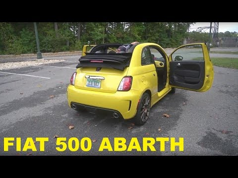 Watch Three Grown Men  the Fiat 500 Abarth Convertible