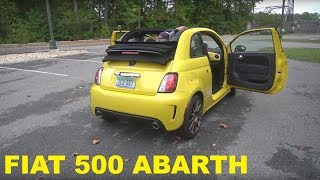 homepage tile video photo for Watch Three Grown Men Review the Fiat 500 Abarth Convertible