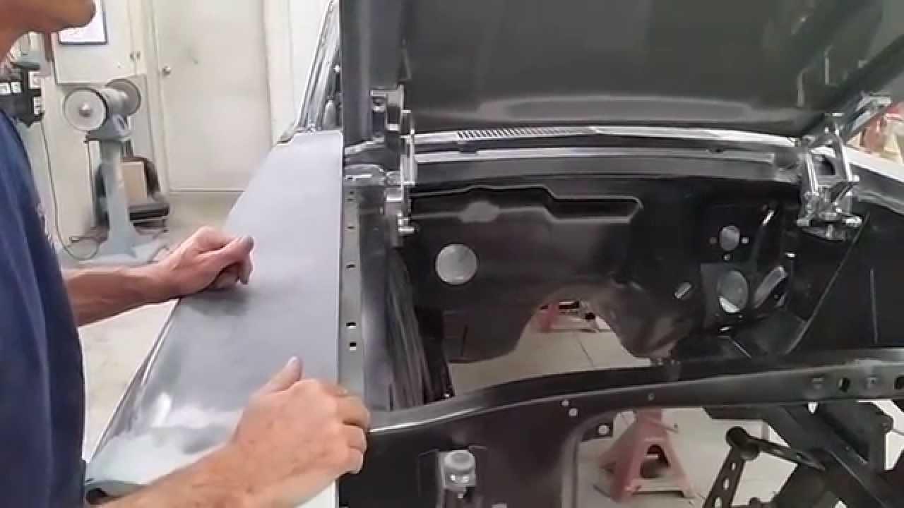 Classic Mustang Billet Hood Hinge Installation By Mustangs