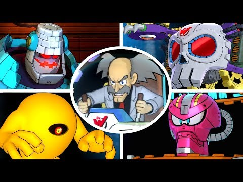 Mega Man 11 - All Bosses & Ending
