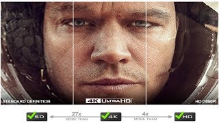 4K Streaming (Netflix) Vs. Blu-Ray Disc (1080p) Vs. 4K Ultra Blu-Ray Disc