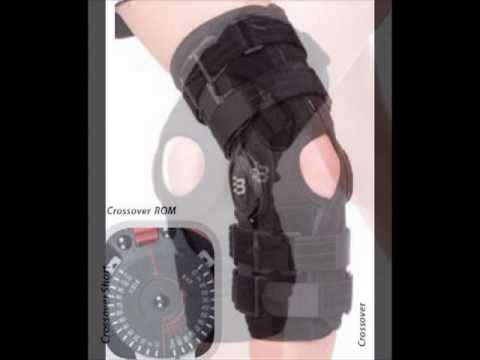 Crossover Knee Brace For Meniscal Or Collateral Injuries Bl