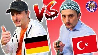 DEUTSCHE VS AUSLÄNDISCHE VÄTER - Türkisch vs Deutsch
