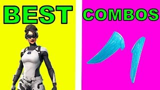 BEST SKIN COMBOS WITH FROZEN WINGS!!! 70+ Skins | Fortnite Battle Royale PC Gameplay
