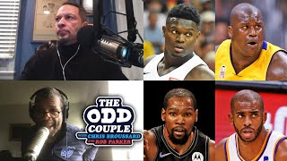 Antonio Daniels Talks Zion Being Compared to Shaq, Brooklyn Nets, and More! | THE ODD COUPLE