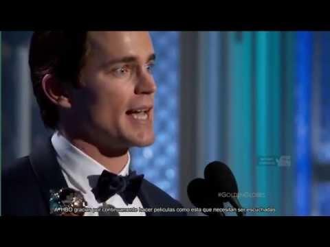 Matt Bomer golden globes acceptance speech (sub) en streaming