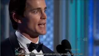 Matt bomer golden globes acceptance speech (sub)