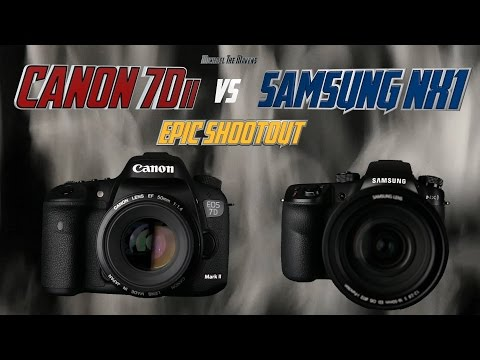 Canon 7Dii Mark 2 vs Samsung NX1 Epic Shootout Review | Which Camera to Buy | Training Tutorial