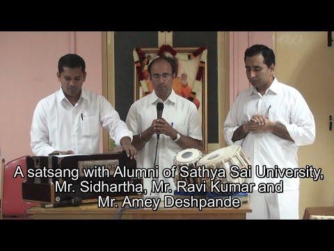 History of Prasanthi Mandir bhajans Oct 4,  2015