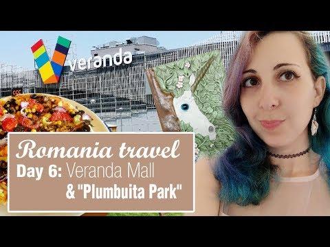 "Romania travel Day 6   Veranda Mall & ""Plumbuita Park""   Mavic pro drone footage"
