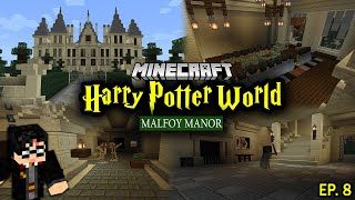 Building A Harry Potter Minecraft World - Ep. 8 (Malfoy Manor)