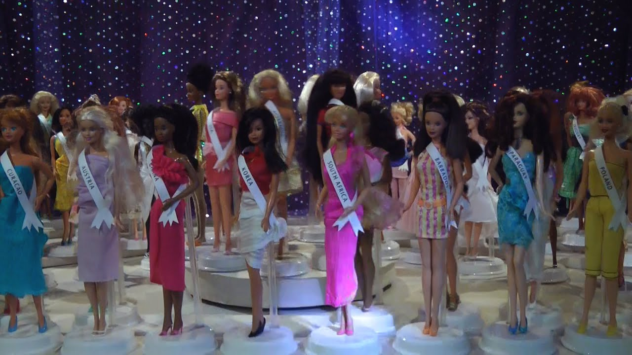 miss universe preview 80 barbie dolls beauty pageant