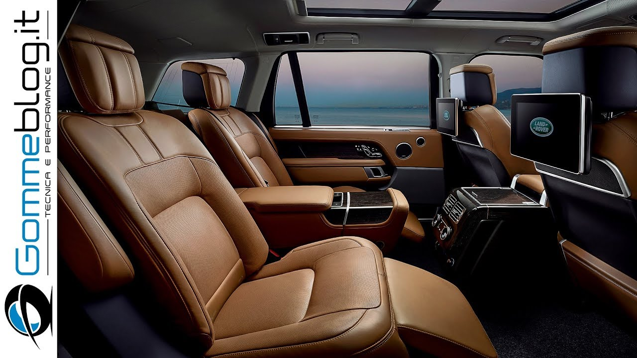 Range Rover 2018 Interior New Rear Seats Top Luxury Youtube