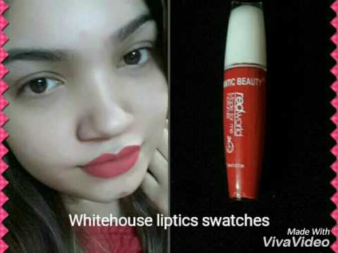 3 beautiful and affordable Whitehouse lipsticks swatches