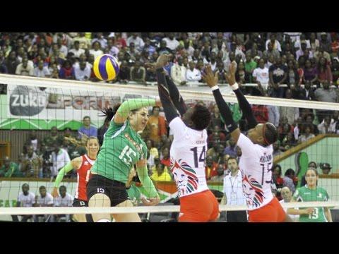 Kenya (Malkia Strikers) vs Algeria - Africa Cup of Nations Finals