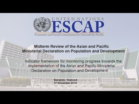 Midterm Review of the Asian and Pacific Ministerial Declaration on Population & Development