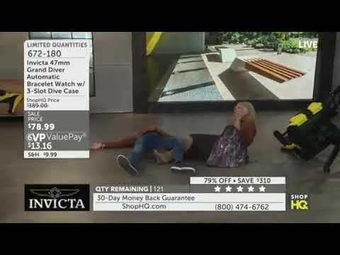 LOL!! HOME SHOPPING FAIL ON SHOPHQ - LIVE NATIONAL TV BLOOPER