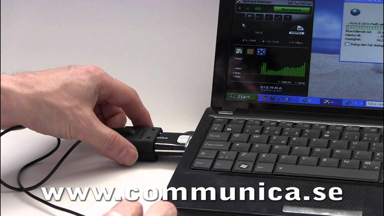 mottagning mobilt bredband