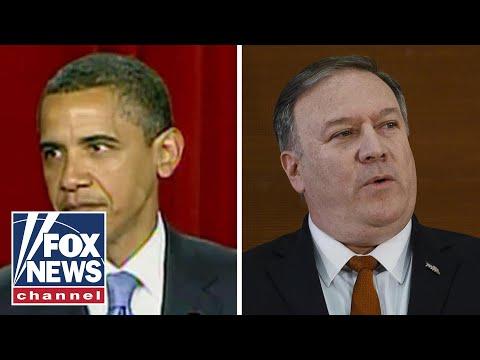 Pompeo slams Obama's