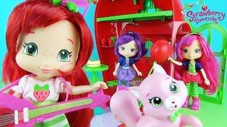 Домик для куклы Шарлотта Земляничка Подарки Мультфильм для детей Strawberry Shortcake House Play