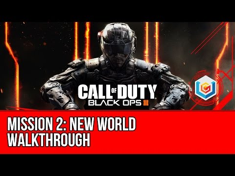 Call of Duty Black Ops 3 - Walkthrough Mission 2: New World (A Second Chance)