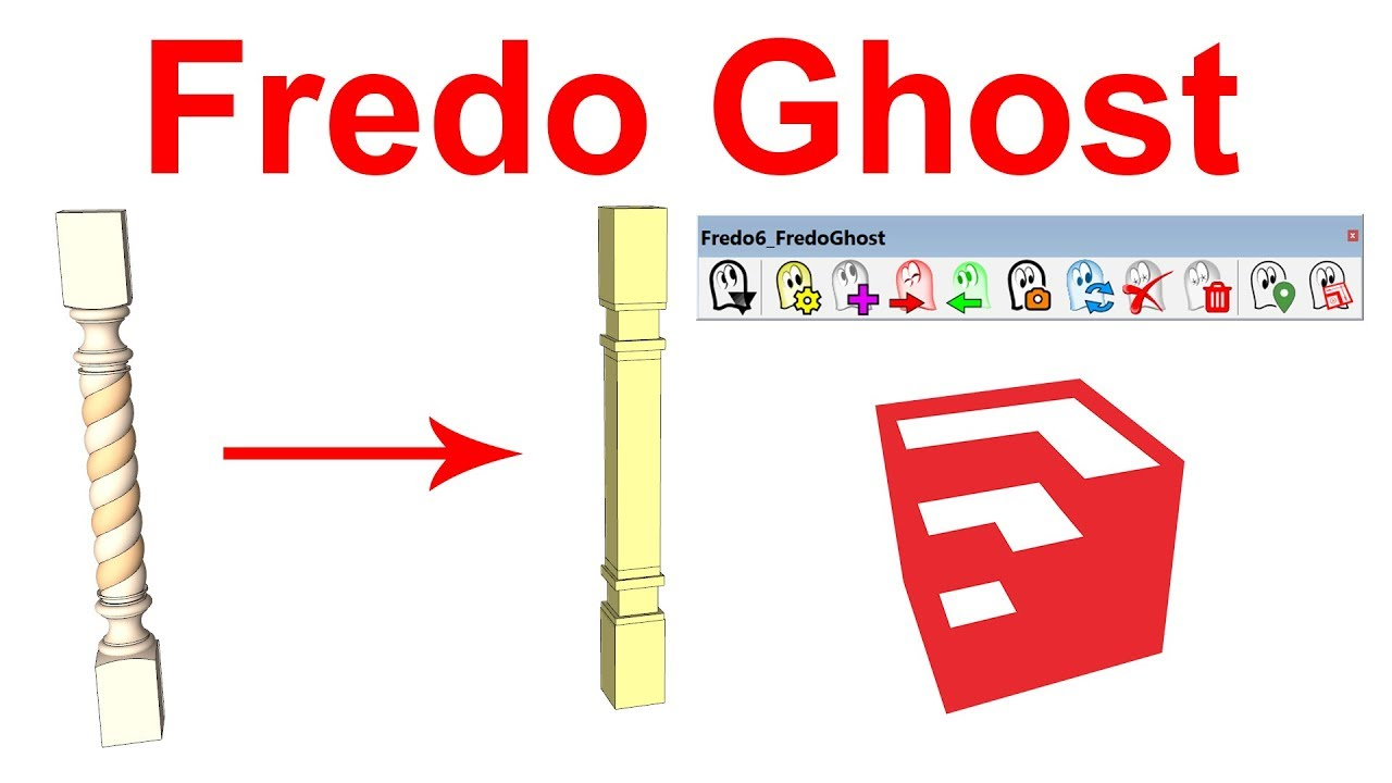 How to Use Fredo Ghost in SketchUp