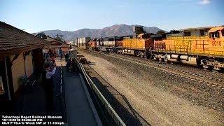 Tehachapi Depot Railroad Museum - Tehachapi Live Train Cam 2