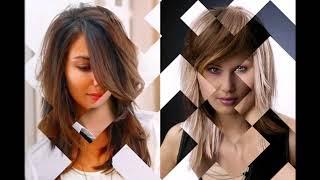 Модная стрижка каскад на средние волосы 2018