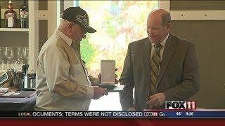 Vietnam veteran receives Bronze Star
