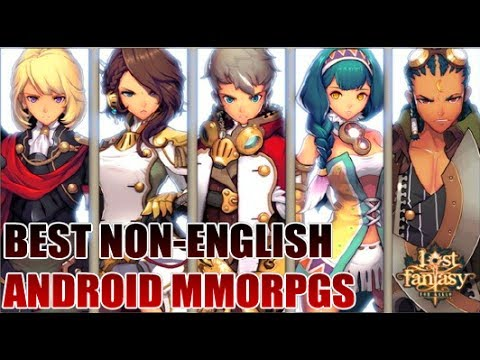Top 5 Best Non-English Android MMORPG Games