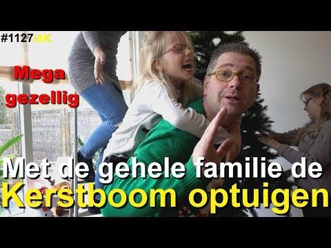 KERSTBOOM optuigen in ons NIEUWE HUIS | Versieren | Familie vlog | #1127