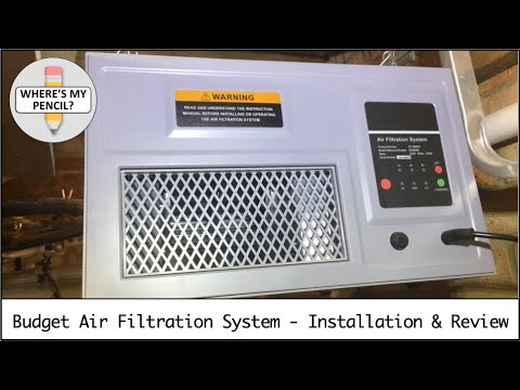Budget Workshop Air Filtration System - Installation and Review