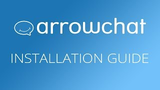 How to Install ArrowChat