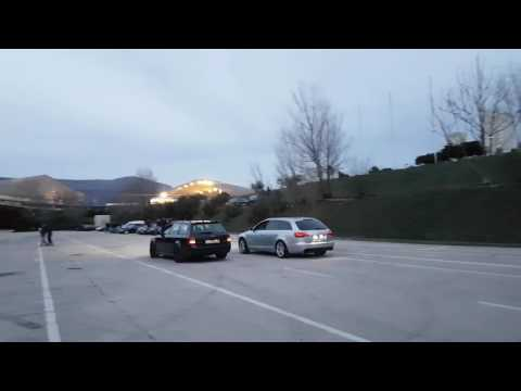 Audi C5 RS6 MTM stage 2, 540hp vs Audi A6 C6 3.0 TDI MTM stage 1 318hp