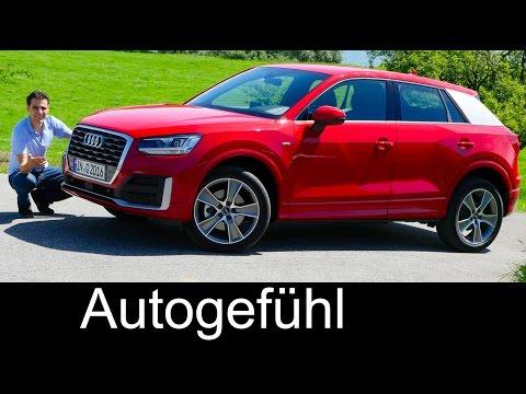 Audi Q2 S-line FULL REVIEW test driven all-new neu SUV TFSI
