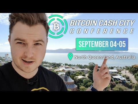 Bitcoin Cash City Conference - Announcement