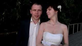 Видео Отзыв о ведущем, свадьба 10 августа 2013 ,  Ведущий прикол Плахтий Владимир