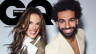 من هي أليساندرا أمبروسيو التي ظهرت مع محمد صلاح على غلاف مجلة GQ(صور