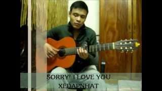 Xin lỗi, anh yêu em(Sorry I love U) guitar-themanh