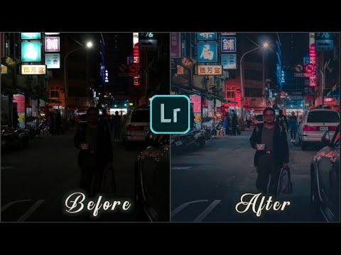 Lightroom Mobile Presets Free Dng   Night Lightroom Mobile Preset
