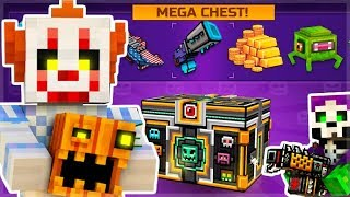 SCARY HALLOWEEN SUPER CHEST OPENING! NEW PETS, WEAPONS & MAPS!   Pixel Gun 3D