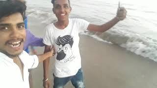 Full enjoy Mumbai varsova beachhhh