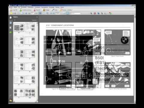 bmw e30 e31 e36 electrical troubleshooting manual youtube rh youtube com BMW E28 BMW E24