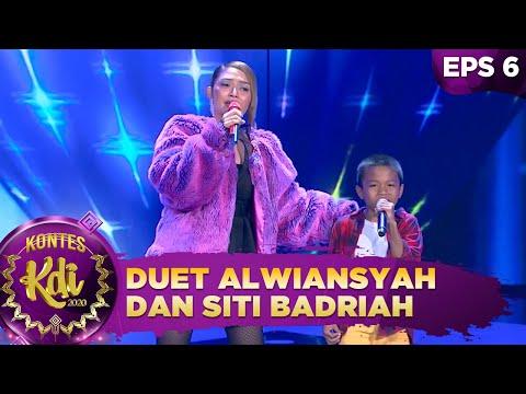 Duet Memukau Alwiansyah Dan Siti Badriah [CUMA KAMU] - Kontes KDI 2020 (7/9)