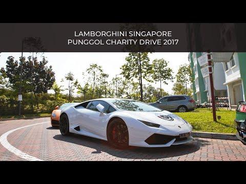 Lamborghini Singapore - Punggol Charity Drive 2017