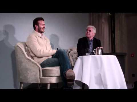 David Beckham Interview about his H&M Bodywear Range | Grazia UK