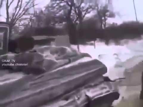 Война видео Украина  АТО Кадры с поля боя