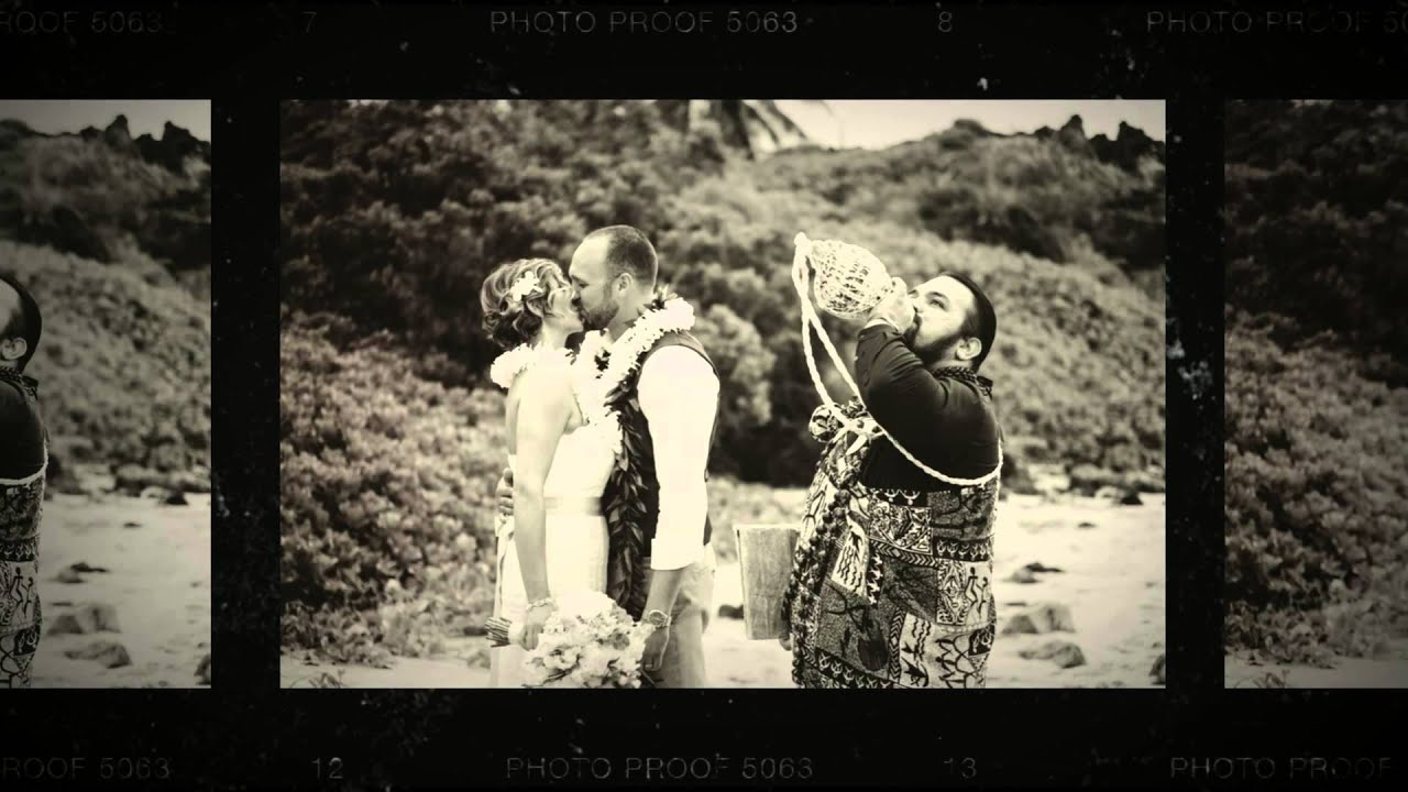 Hawaii Wedding Packages By Simple Maui Wedding Youtube